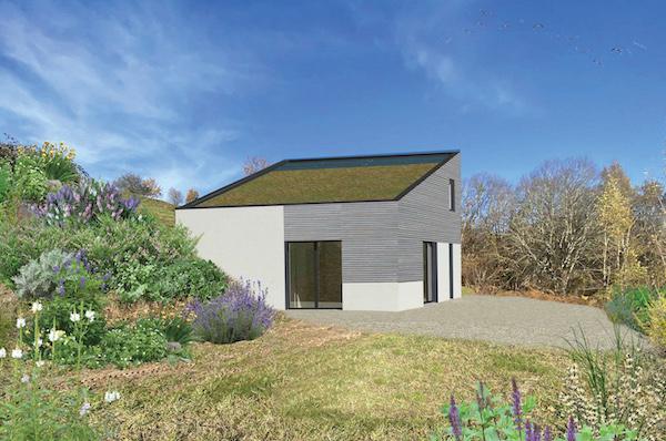 troglo village concepthuis kavel 10 impressie