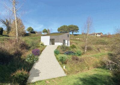troglo village concepthuis kavel 8 impressie