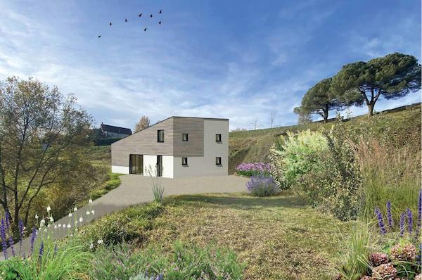 troglo village concepthuis kavel 9 impressie