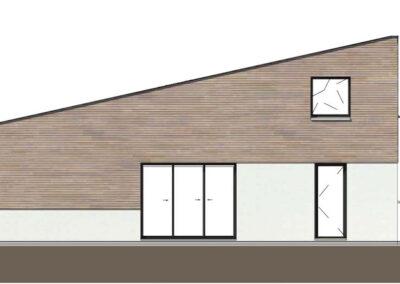 troglo village concepthuis gevel oost