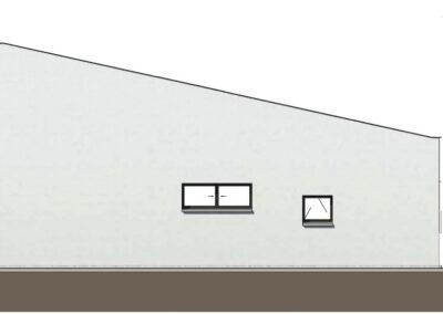 troglo village concepthuis gevel west