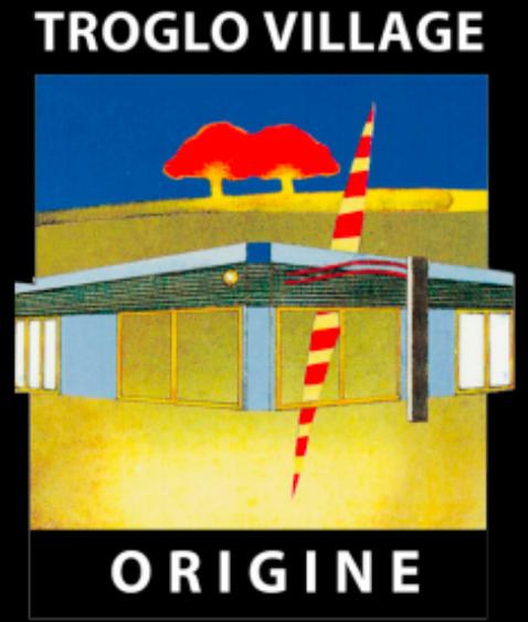 Troglo Village Origine Logo